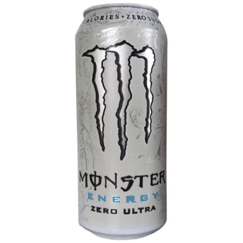 Amazon.com : Monster Energy Drink, Zero Ultra, 16 Ounce (Pack of 24