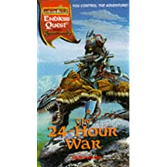 The 24 Hour War (Endless Quest Gamma World Setting) by Nick Pollotta, Terry Dykstra and Keith Parkinson
