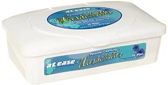 Hospeco HS-3864 At Ease Pre-Moistened Wipes Tub (8 Packs of 64)