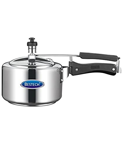 Bestech RS23 Aluminium 3 L Pressure Cooker (Inner Lid)