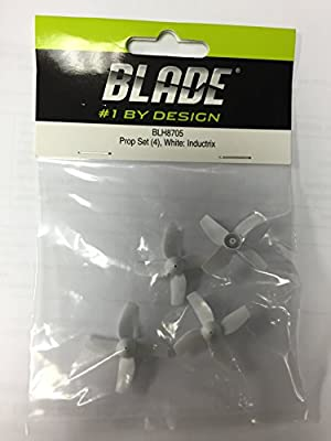 Blade Prop Set (4), White: Inductrix BLH8705 by BLADE