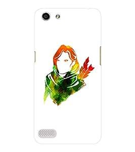EPICCASE The Archer Mobile Back Case Cover For OPPO Neo 7 (Designer Case)