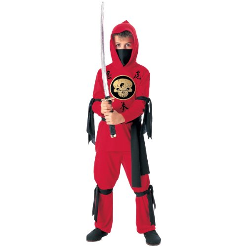 Red Ninja Costume - Small