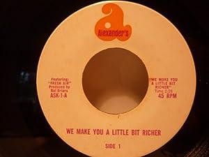 same old guy / we make you a little bit richer 45 rpm single