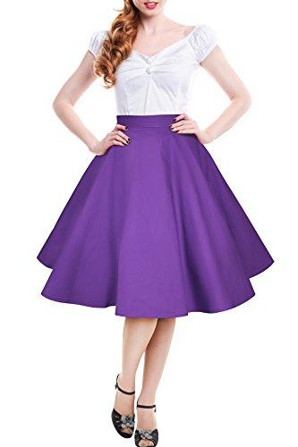 black-butterfly-vintage-rockabilly-cercle-complet-jupe-de-1950-cadbury-violet-42