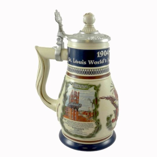 anheuser-busch-100th-anniversary-st-louis-cb28-stein-collector-club-2004-bud-by-unknown