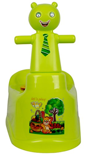 Scooty Potty | Kids Potty Scooter  Green  available at Amazon for Rs.499