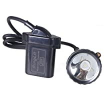 Ringlit® 5W 2000/25000Lux LED Headlight Lamp Explosion Proof &Water Proof Camping Hunting Climbing Mining Light with Smart Charger & Car Charger