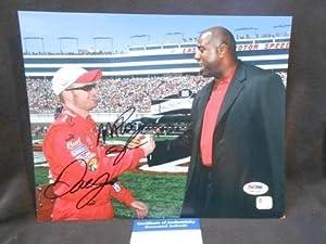 Magic Johnson Signed Picture - Dale Earnhardt Jr & Rare 8x10 3a67492 - PSA DNA... by Sports Memorabilia