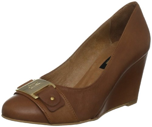 Marta Jonsson Women's 5676 Tan Wedge Heels  7 UK