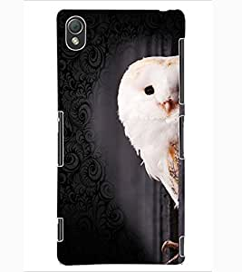 ColourCraft Cute Owl Design Back Case Cover for SONY XPERIA Z3