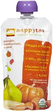 buy Happy Family Happy Tot Purees - Pumpkin, Sweet Potato & Pear - 4.22 Oz - 8 Pk