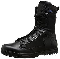 5.11 Men\'s Skyweight Waterproof Side Zip Tactical Boot, Black, 9 D(M) US