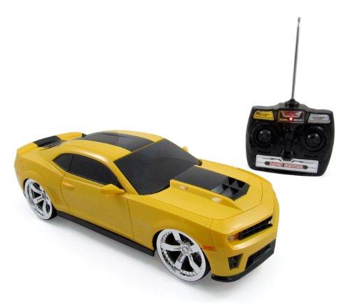 2012 Chevrolet Camaro ZL1 BumbleBee R/C Radio Remote Control Car 1:14 Scale (Yellow) (Yellow Camaro Bumblebee compare prices)