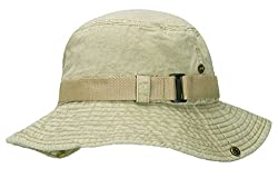 Home Prefer Vintage Foldable Sun Hat UV Protective Cap for Men's Sports, Fishing Outdoor Activities Beige