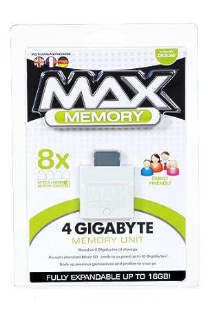 XBox 360 Max Memory 4 Gigabyte Memory Unit