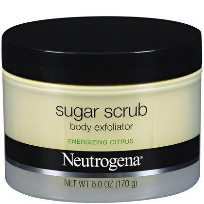 Neutrogena Energizing Sugar Scrub Body Exfoliator – Citrus (6 oz.)