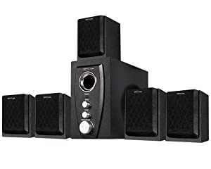 Acoustic Audio AA5101 450 Watt 5.1 Powered Sub and Home Theater Speaker System by Acoustic Audio