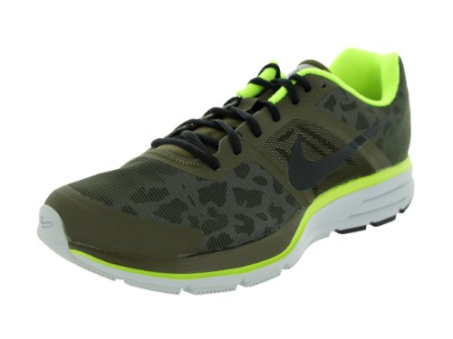 Nike Men'S Air Pegasus+ 30 Shield Dark Loden/Black/Volt/Pr Pltnm Running Shoe 9 Men Us front-404747