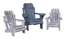 Cohasset 3-Piece Mini Beach Chair Assortment
