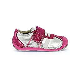 Umi Infants/Toddlers Arenn,Silver Multi Leather/Synthetic,EU 19 M