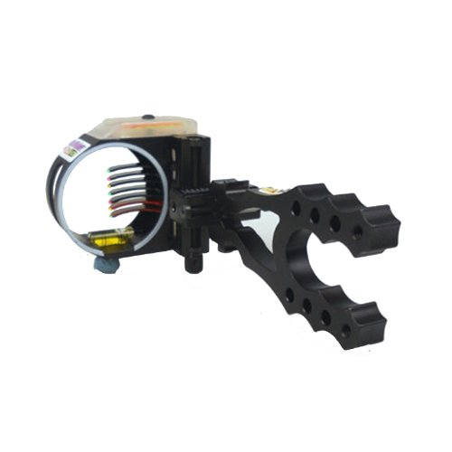 Black Gold .019 Right Hand Flash Point Redzone HD 7 Pin Bow Sight (Black)