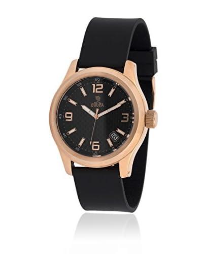 Dogma Reloj con movimiento cuarzo suizo DG7054N Negro 49  mm