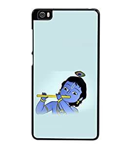 printtech Lord God Krishna Small Cartoon Back Case Cover for Xiaomi Redmi Mi5::Xiaomi Mi 5