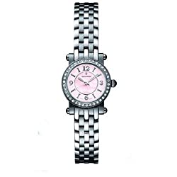 Accutron Women's 26R27 Courchevel Diamond Mother of Pearl Watch