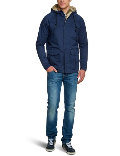 Jack and Jones Vintage Rugged 1-2-3 2013 Men's Coat Mood Indigo Medium