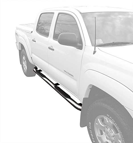 MaxMate Custom Fit 05-16 Toyota Tacoma Double Cab Stainless Steel 3