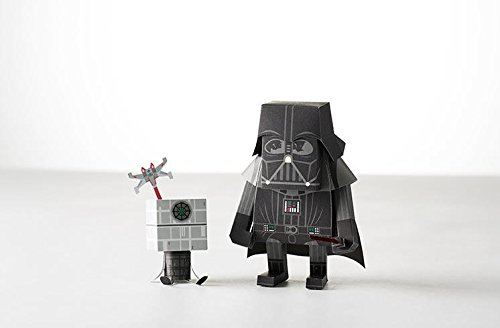 Momot Starwars Darth Vader Paper Craft Figure