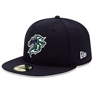 Amazon.com : Charlotte Knights Authentic Road Fitted Cap ...