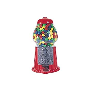 "StealStreet SS-CQG-GM0011 Gm0011 11"" Classic Gumball Machine Home Decor Toy Accessory Display, Red"