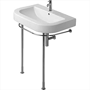 Console sink legs uk room ornament for Pedestal sink with metal legs