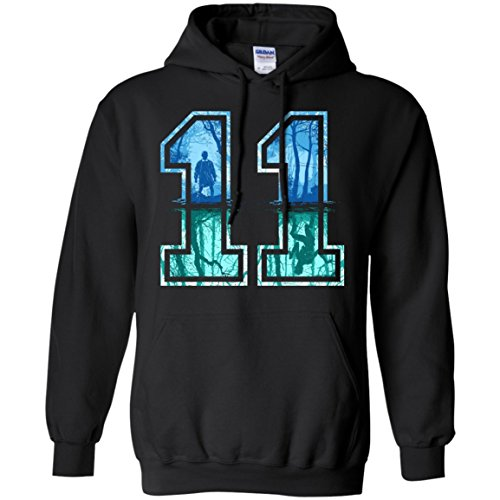 Stranger Things Eleven Upside Down Hoodie