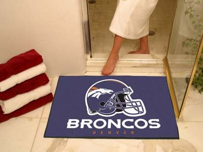 "Denver Broncos 34 x 44"" Bath Mat"" at Amazon.com"