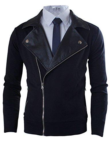 toms-ware-veste-simili-cuir-contraste-hommestwkwj317-black-xl-us-l