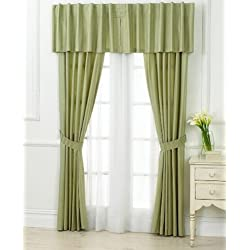 "Charter Club ""Damask Stripe"" Window Valance Palmetto"