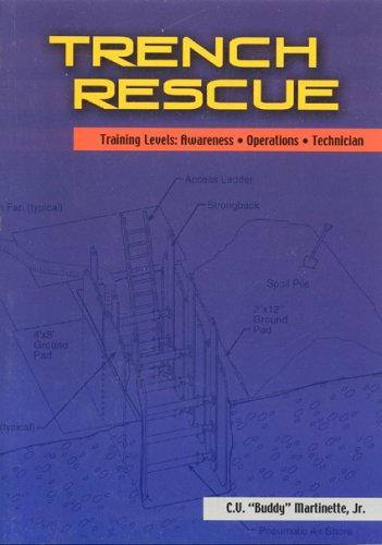 Trench Rescue : Training Levels: Awareness Operations Technician, C. V. MARTINETTE BUDDY