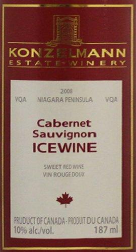 2010 Konzelmann Cabernet Sauvignon Ice Wine Niagara Peninsula 375 Ml