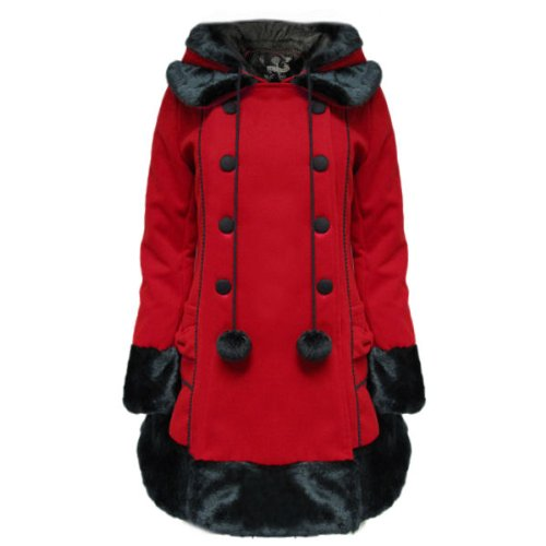 Hell Bunny -  Cappotto  - Donna Rosso rosso