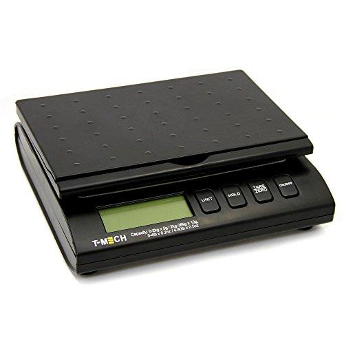 Balances T-Mech postal / LCD Parcel électronique numérique de pesage / Poids affranchissement Expédition postale - Mains GRATUIT adaptateur & Batteries
