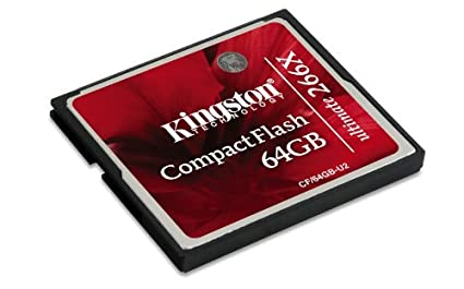 Kingston-CF/64GB-U2-Compact-Flash-64GB-Ultimate-266x-Memory-Card