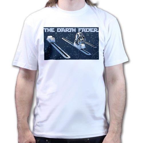 Darth Fader Vader T Shirt White Xl