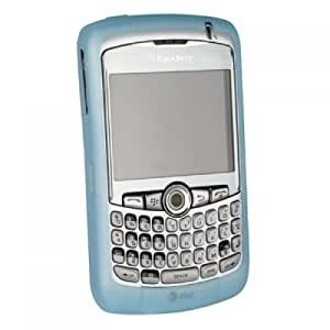 Wireless Xcessories Silicone Sleeve for BlackBerry 8300 Curve - Blue