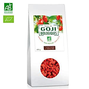 Organic Goji Berries 400g from Comptoirs & Compagnies