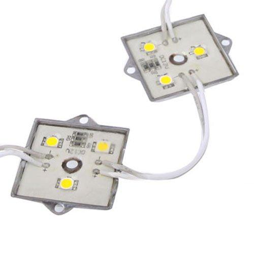 Puluz 20 X 3 Led Warm White 5050 Smd Led Module Light Strip Dc 12V