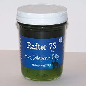 Rafter 7S Hot Jalapeno 8 oz Jelly from Rafter 7S