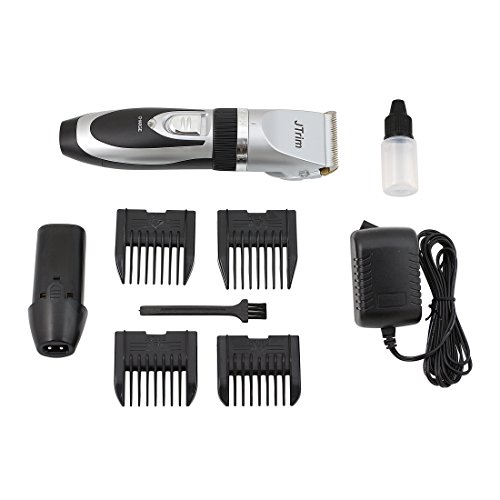 hair clippers by jtrim pro clipper rechargeable electric cordless mustache beard hair trimmer. Black Bedroom Furniture Sets. Home Design Ideas